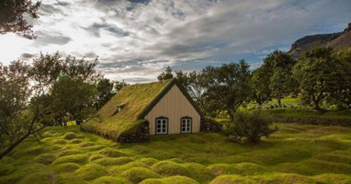 sdfsdf 1 - 30 Breathtaking Photos of Green-Roofed Homes of Scandinavia That Just Look Like Fairytale Homes