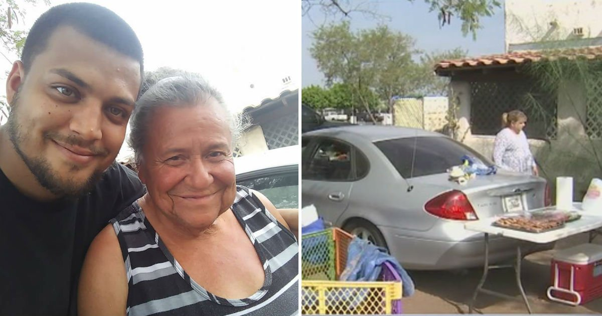 woman lives in car - Elderly Woman Lives in Car Even Without Water. When Neighbor Finds Out, They Can't Just Let It Happen