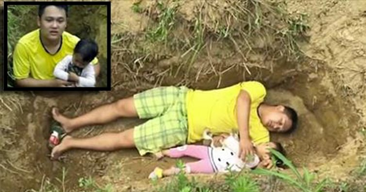 0208.png?resize=648,365 - Father Digs A Grave For His Ill Daughter Because He Can No Longer Afford Her Medical Bills