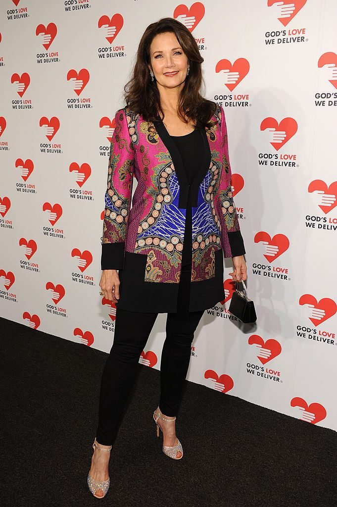 NEW YORK, NY - OCTOBER 16: Actress Lynda Carter attends God's Love We Deliver 2013 Golden Heart Awards Celebration at Spring Studios on October 16, 2013 in New York City. (Photo by Dimitrios Kambouris/Getty Images for Michael Kors)