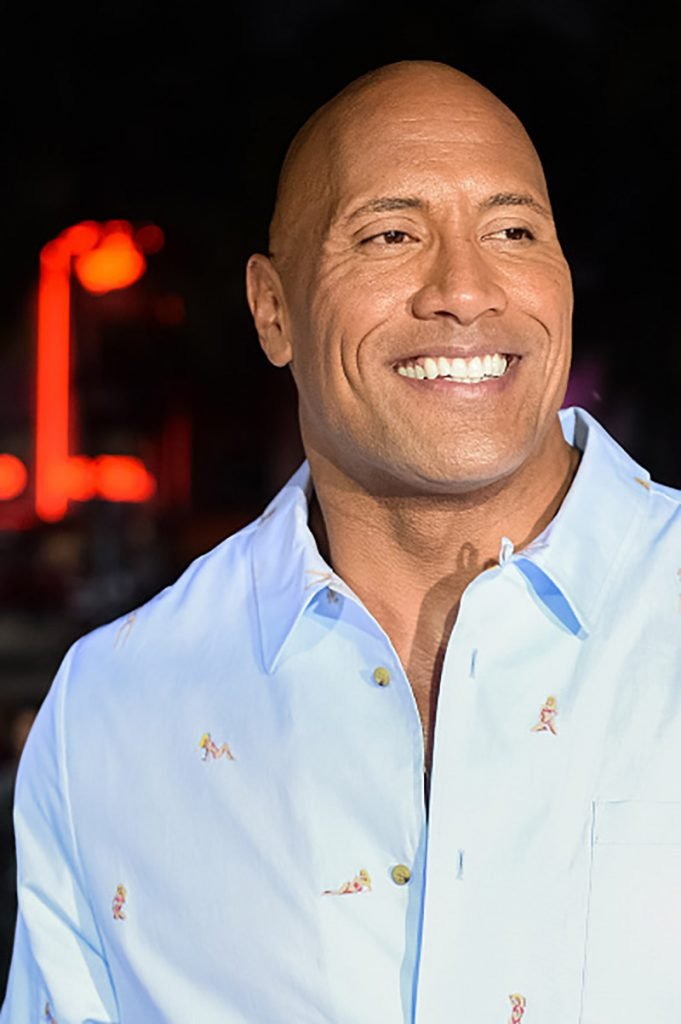 """MIAMI, FL - MAY 13: Dwayne Johnson attends Paramount Pictures' World Premiere of """"Baywatch""""on May 13, 2017 in Miami, Florida. (Photo by Jason Koerner/Getty Images)"""