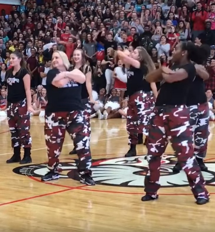 step4 - First Thing This High School Principal Did When She Came To School Was To Call The School's Dance Team