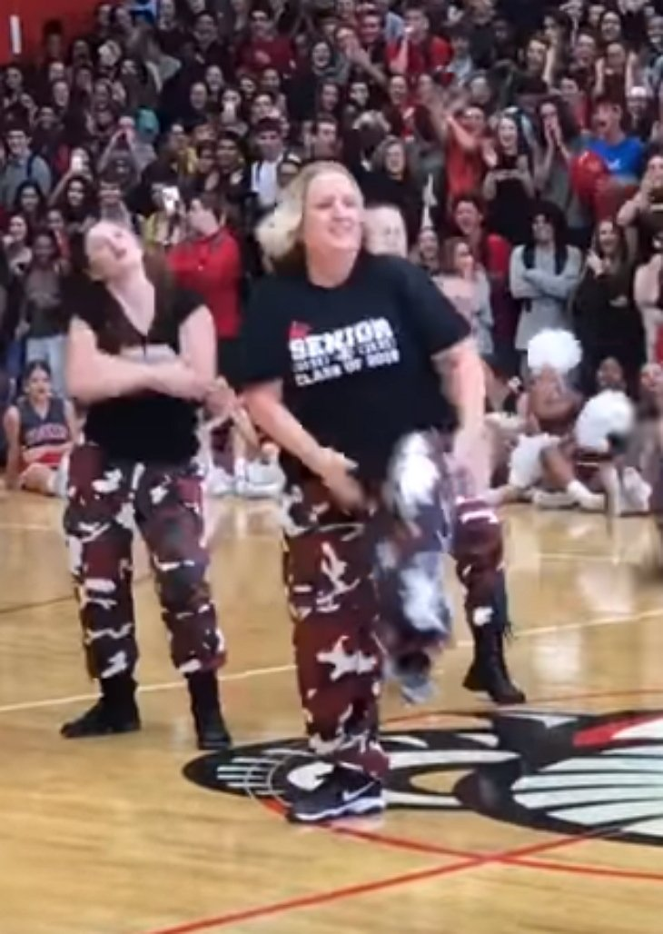 step5 - First Thing This High School Principal Did When She Came To School Was To Call The School's Dance Team