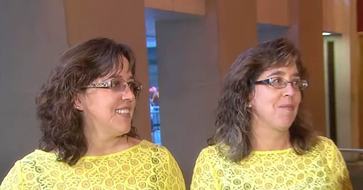 a - Identical Twin Receives Drastically Different Makeover. They're Speechless At Each Other