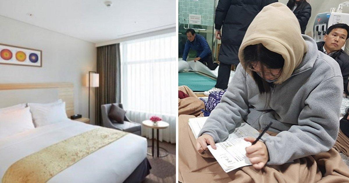 article thumbnail 74.jpg?resize=1200,630 - 세계적 호텔이 수험생들에게 22만원짜리 객실을 4일간 '무료 제공'한 이유