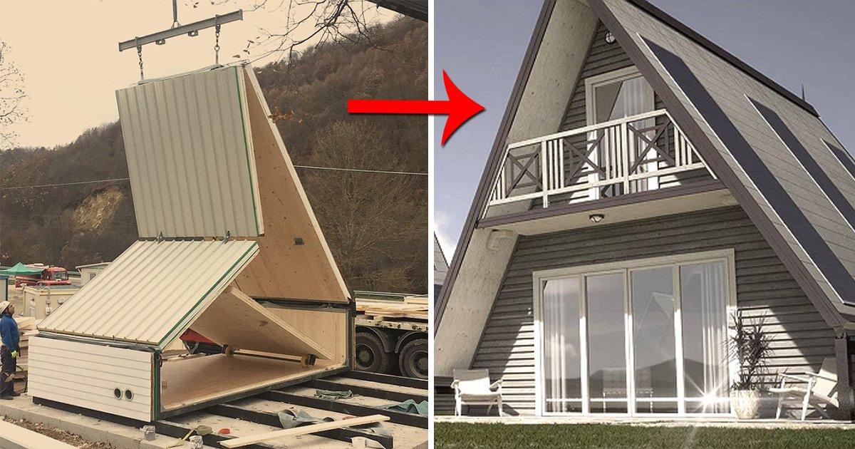 "article thumbnail 97.jpg?resize=1200,630 - ""3500만원에 집 한채 가능"" 6시간 만에 짓는 신개념 접이식 하우스 (영상)"