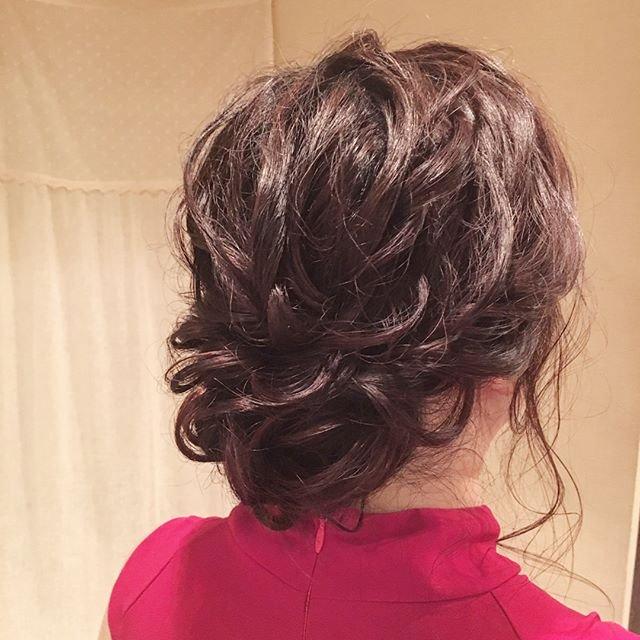 黒髪 ゆるふわ シニヨン에 대한 이미지 검색결과