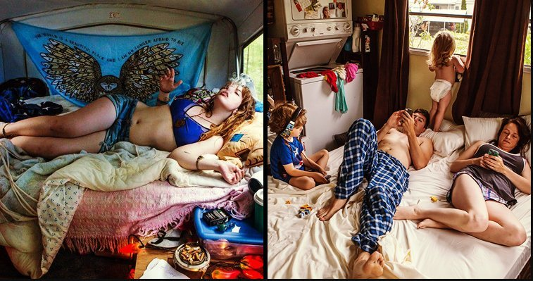 barbara peacock bedroom photography.jpeg?resize=1200,630 - 攝影師拍下美國中產階級居家生活「最真實的一面」