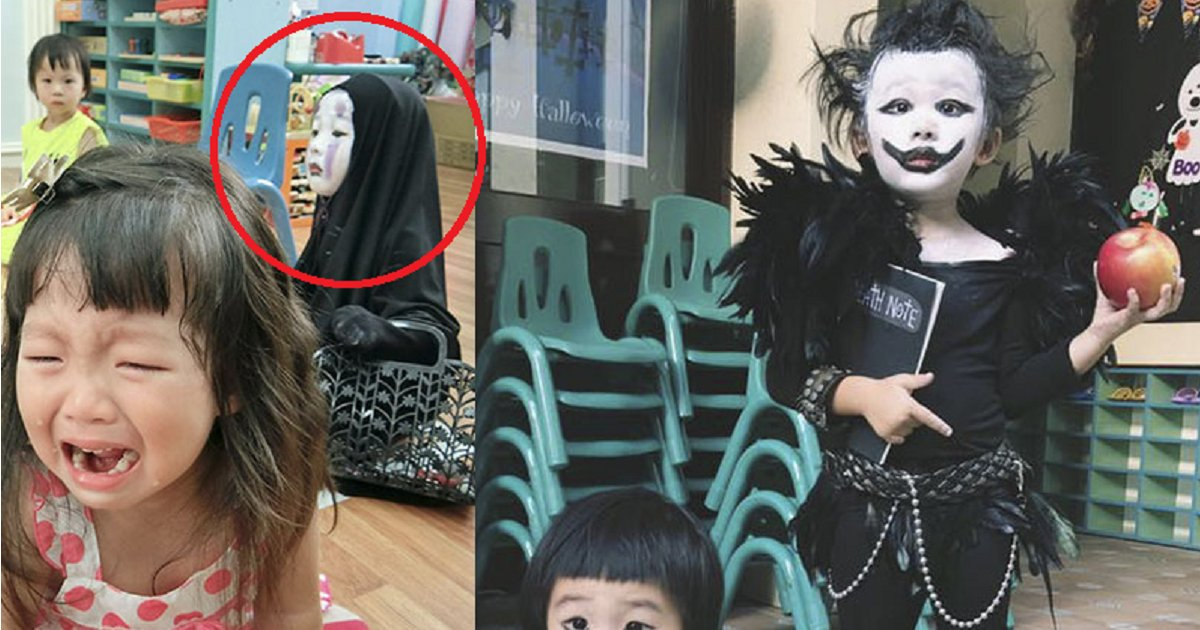 bbbbbbb 3.png?resize=300,169 - The Famous Taiwanese Kindergartner Who Won Last Year's Halloween Has Done It Again!