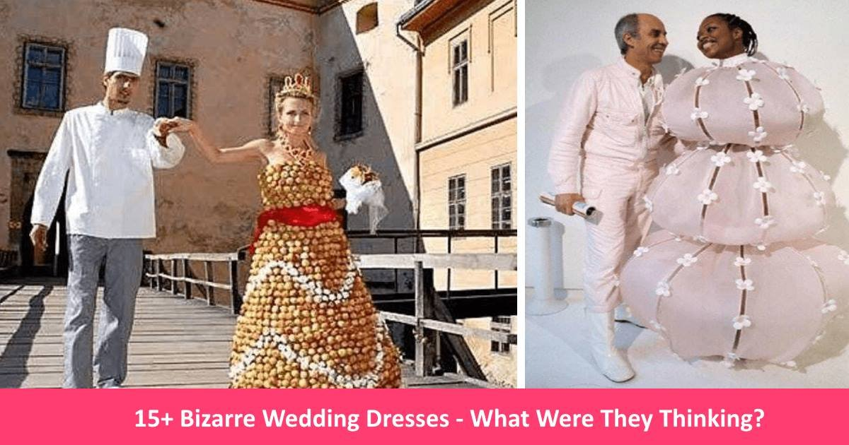 bizarreweddingdresses