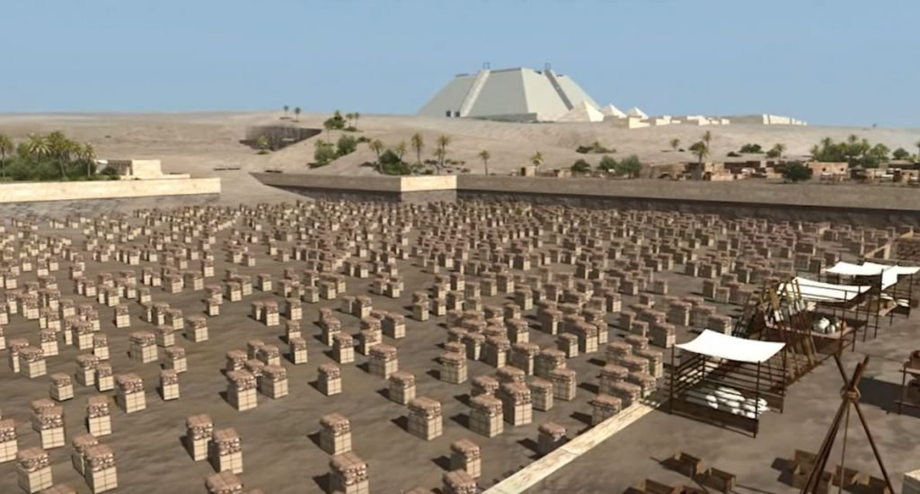 building the pyramids 1 - Archaeologists Finally Reveal the Ancient Secret of How Pyramids Were Built