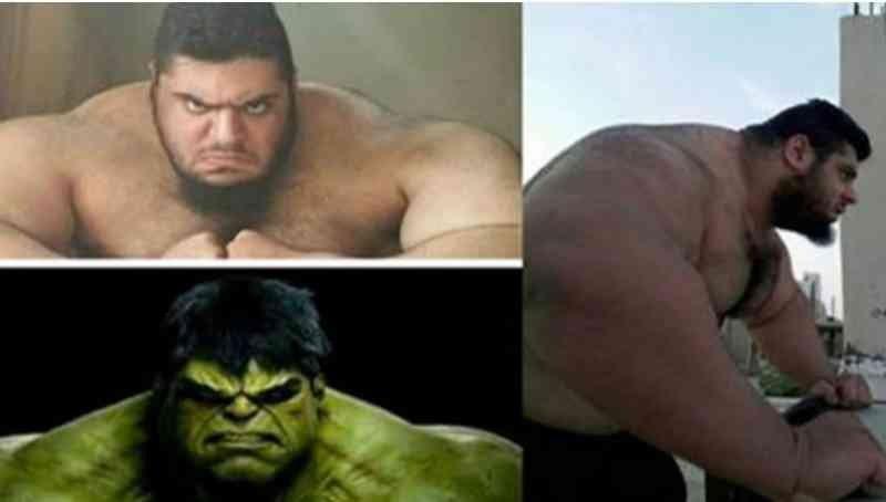 capture61 - Hulk Came To ALIVE! 10 Photos Of The Real Life Hulk, Sajad Gharibi