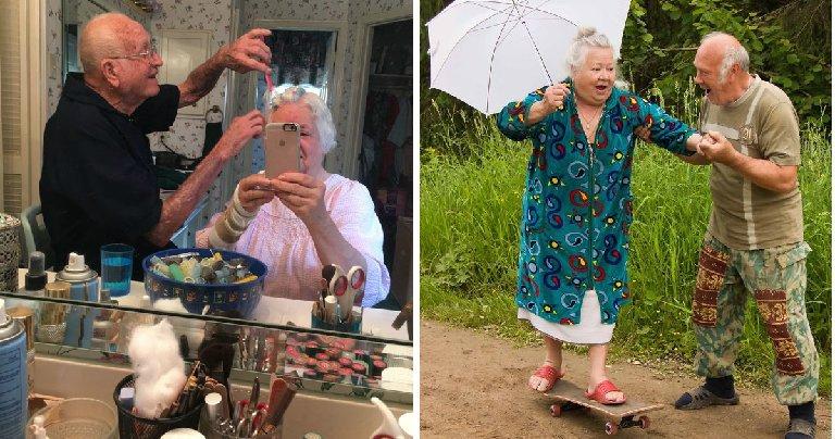 casallindo.jpg?resize=1200,630 - Esses casais de idosos mostram como a idade não pode limitar o amor