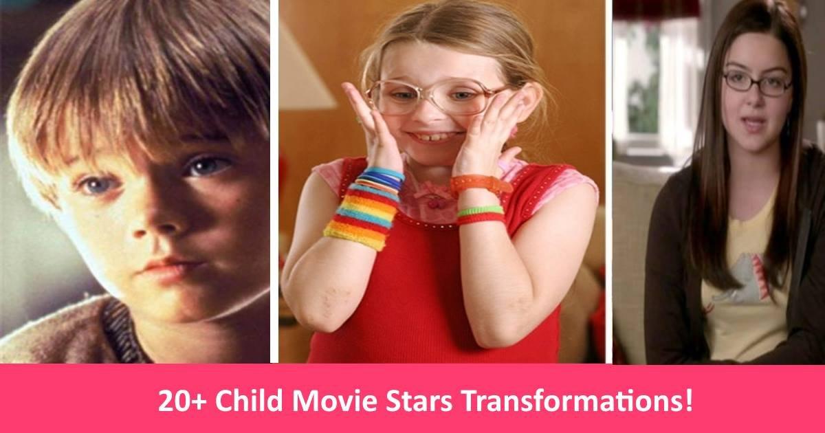 childstars 1 - 20+ Nerdy Child Stars That Have Transformed In Ways You Won't Believe!