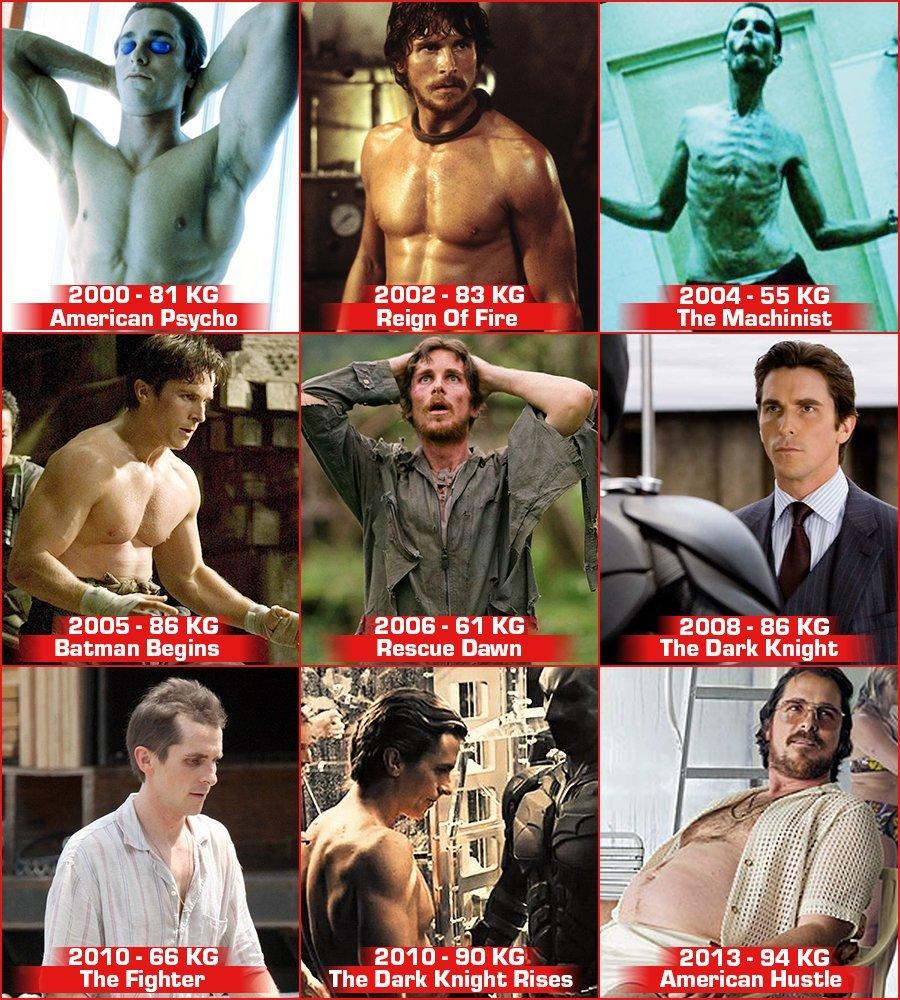 christianbale transformations - [Photos] Christian Bale apparaît méconnaissable pour son prochain rôle