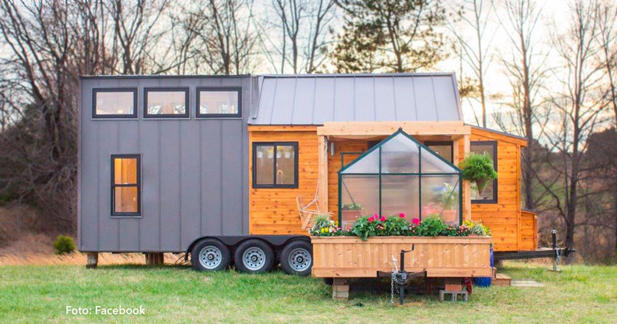 cover 11.jpg?resize=300,169 - Esta casa solo tiene 30 m2 y podrás encontrar hasta un invernadero dentro de ella - ¡Te encantará su interior!