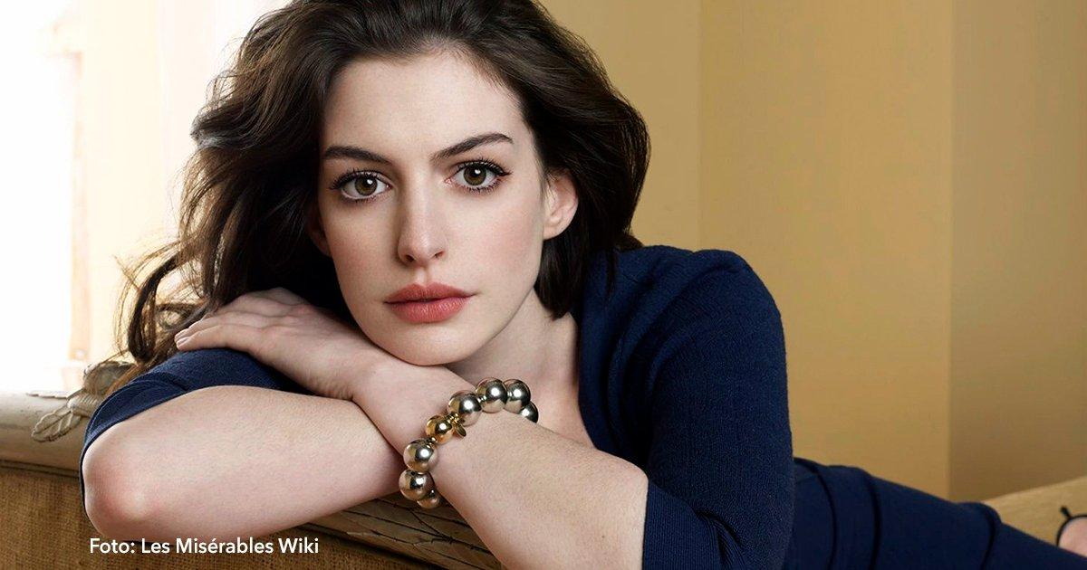 cover 13 - Anne Hathaway presentó una foto de su hijo de un año, por primera vez
