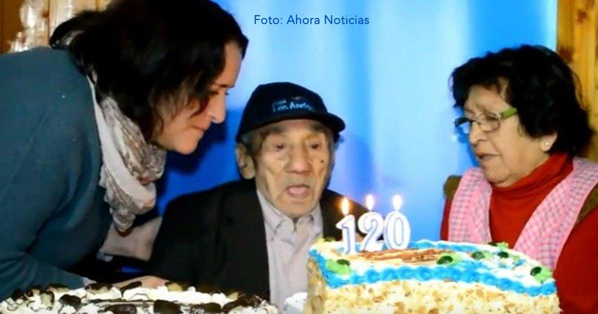 cover 35 - El hombre más longevo vive en Chile y tiene 126 años, ha vivido en 3 siglos y su vida es un misterio para todos