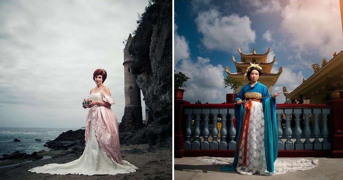 cover 6.jpg?resize=1200,630 - Cómo serían las princesas de Disney si fueran reinas y maduras