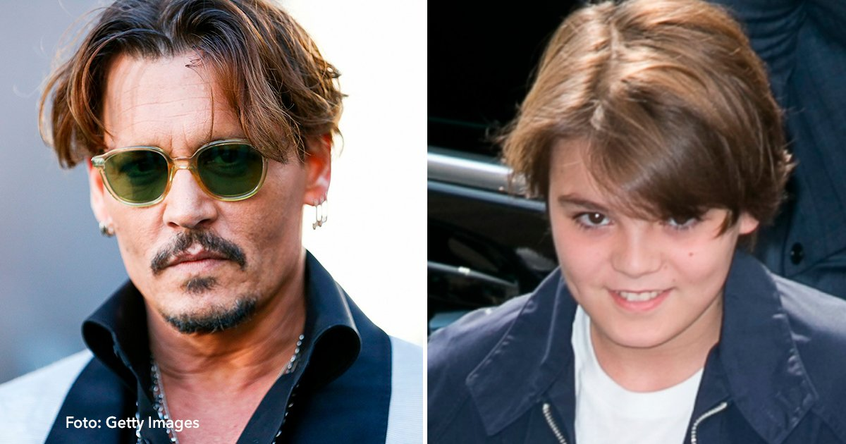 cover 60 - ¡El Hijo De Johnny Depp Ya Es Tan Atractivo Como Su Padre!