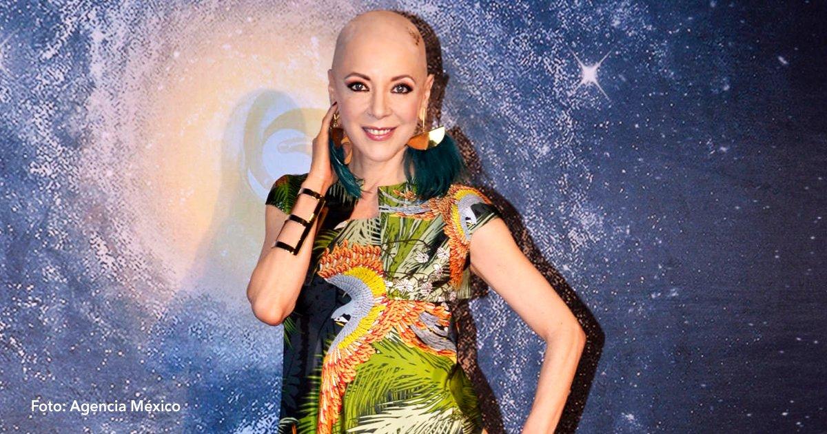 cover 75 - La actriz mexicana Edith González ha anunciado que por fin logró vencer al cáncer