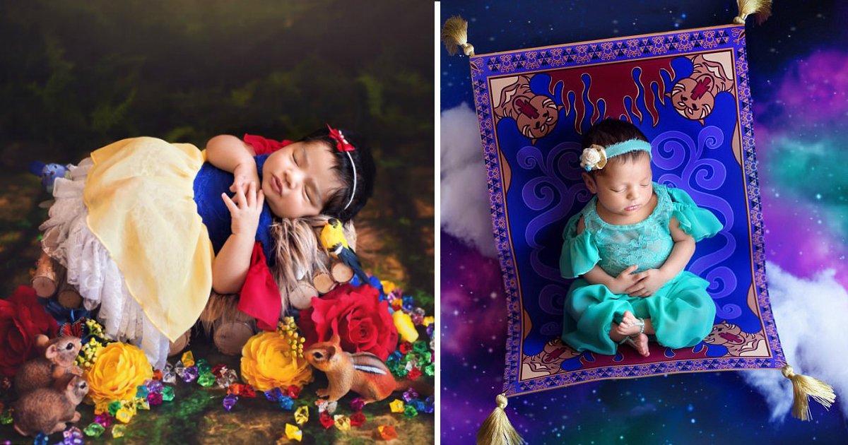 disneybebefin.jpg?resize=412,232 - Ensaio newborn inspirado nas princesas é a coisa mais fofa que você verá hoje!