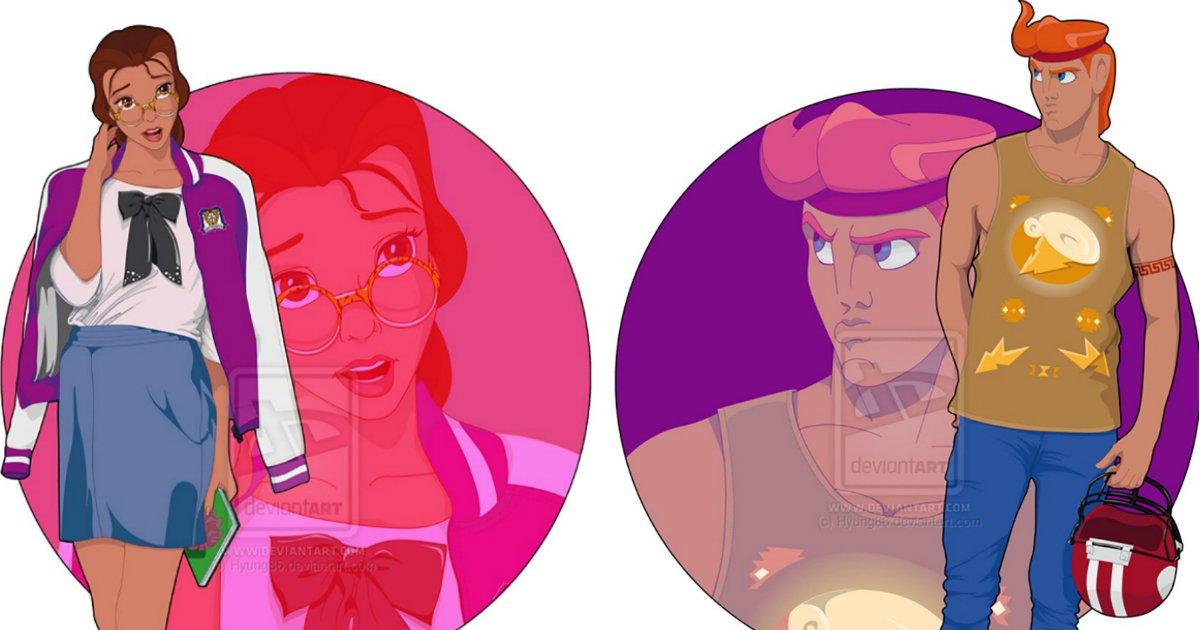 disneyuniversidade.jpg?resize=412,232 - E se os personagens da Disney fossem para a universidade?