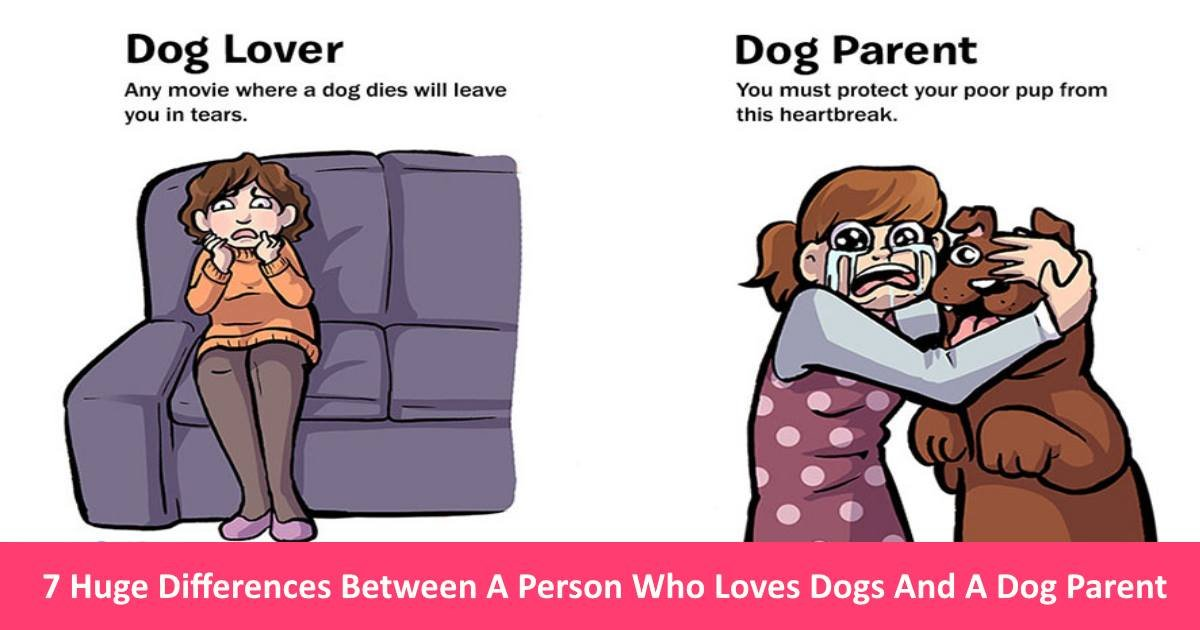 dogparent - 7 Huge Differences Between A Person Who Loves Dogs And A 'Dog Parent'