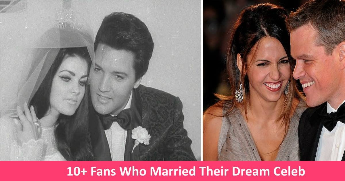 dreamceleb - 10+ Fans Who Were Lucky Enough To Marry Their Dream Celebs