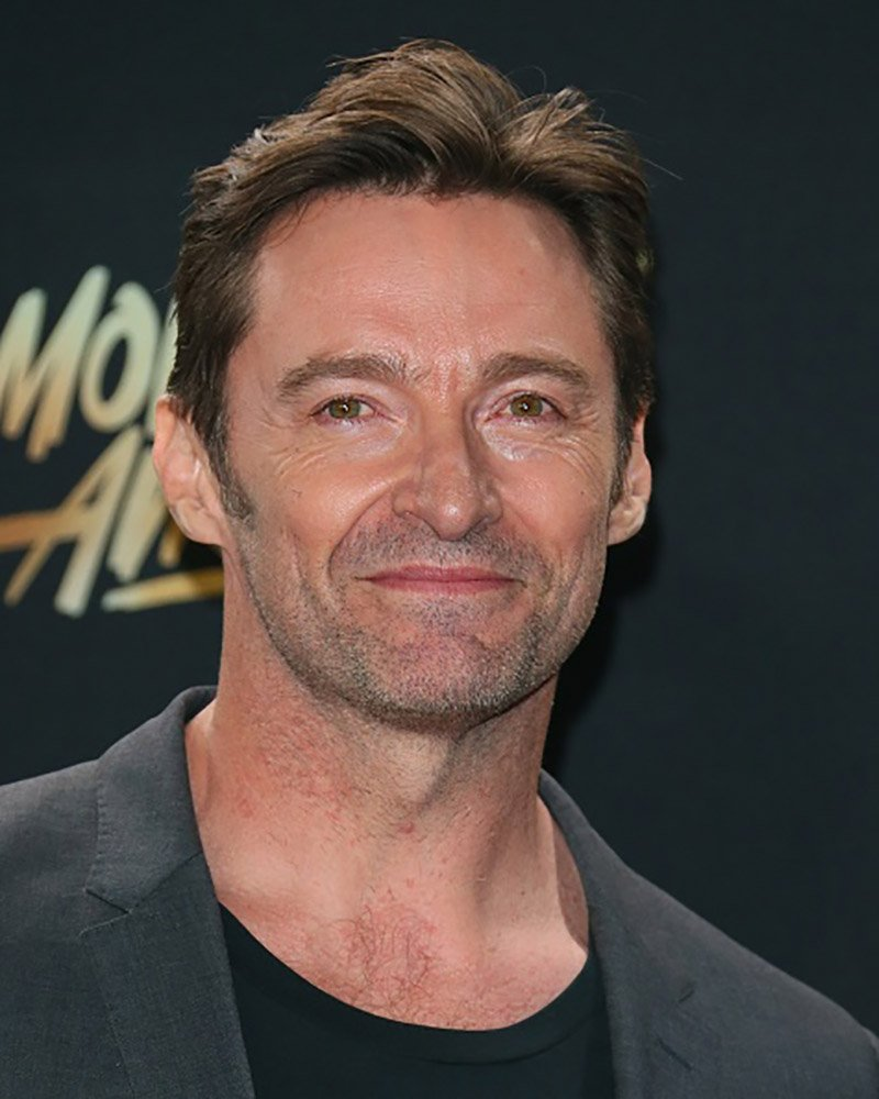LOS ANGELES, CA - MAY 07: Hugh Jackman poses in the press room at the 2017 MTV Movie and TV Awards at The Shrine Auditorium on May 7, 2017 in Los Angeles, California. (Photo by JB Lacroix/WireImage)