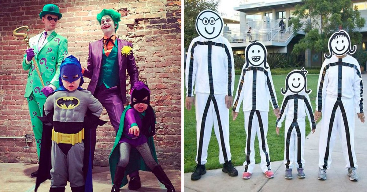 7 times families absolutely nailed their halloween costumes