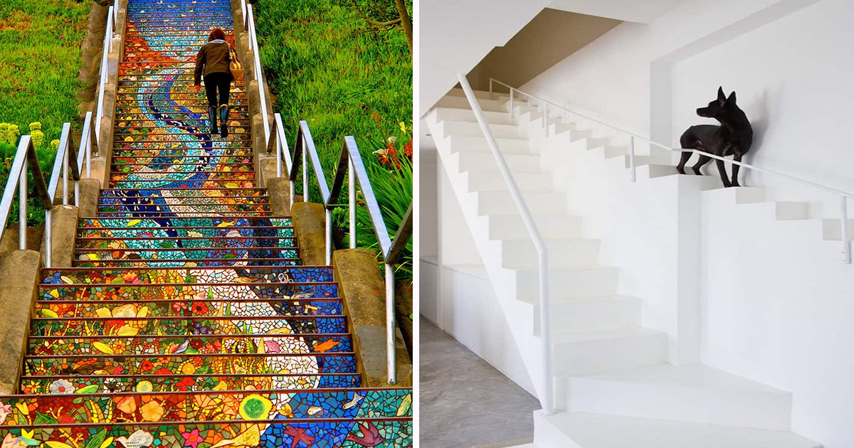 ec8db8eb84ac1 1 - 20+ Staircases Built To The Next Level