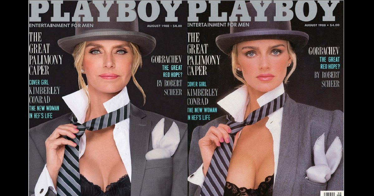 eca09cebaaa9 ec97862ec9d8c 7 - 30 Years Later, Playboy's Playmates Poses Exactly Like Their Own Covers In The Past