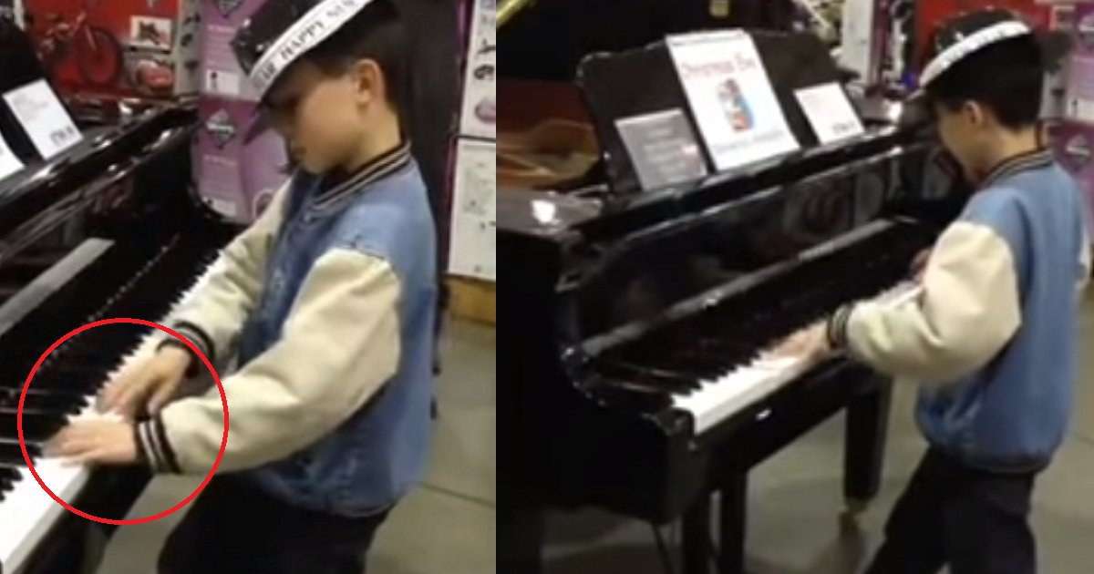 eca09cebaaa9 ec9786ec9d8c 89.png?resize=300,169 - Watch How This 9 Year Old Mozart Amazes Entire Costco With His Piano Skills