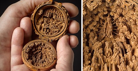 ecbaa1ecb298 23 - 16th Century Boxwood Carvings Are So Tiny That Researchers Need To Use CT-scanning For Their Research