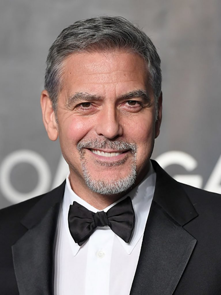 LONDON, ENGLAND - APRIL 26: George Clooney attends the Lost In Space event to celebrate the 60th anniversary of the OMEGA Speedmaster at the Tate Modern on April 26, 2017 in London, United Kingdom. The OMEGA Speedmaster Watch has been worn by every piloted NASA mission since 1965. (Photo by Karwai Tang/WireImage)