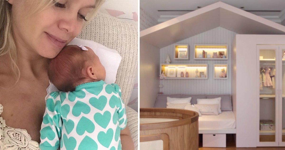 elianafin.jpg?resize=1200,630 - Eliana mostra o belíssimo quarto de sua filhinha Manuela