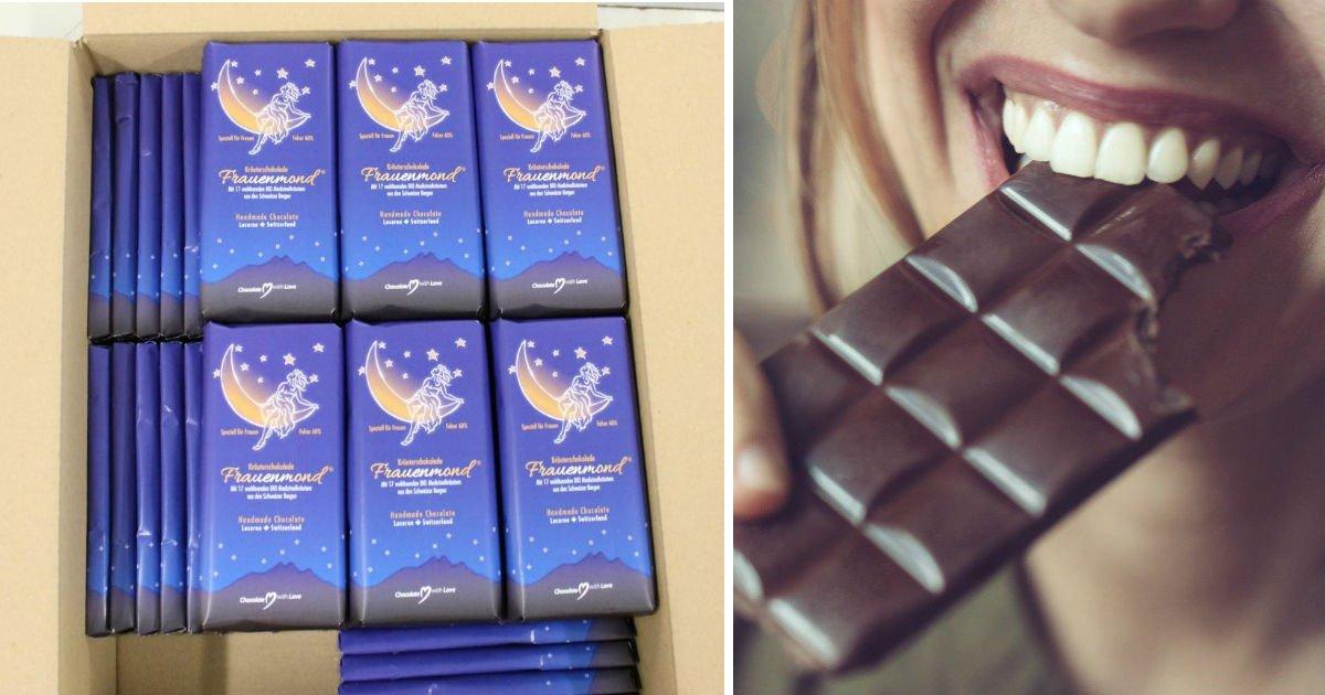 eqwr - '생리통 전문 초콜릿' 맛있게 먹기만 해도 통증이 말끔하게 해결돼 '화제'