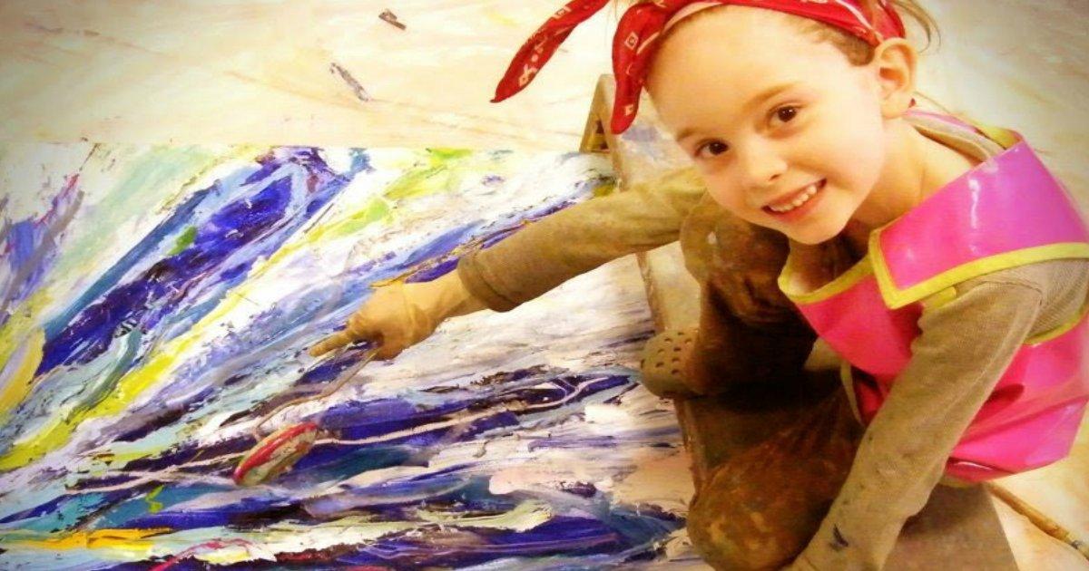 forest.jpg?resize=412,232 - Com apenas 8 anos, menina já era considerada um gênio artístico e desde então já faturou mais de US$7 milhões