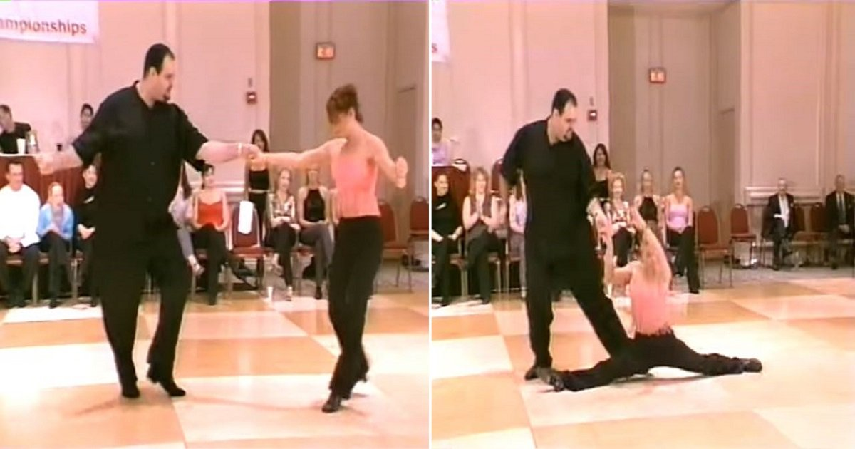 hghg.jpg?resize=412,232 - An Overweight Dancer Blows off the Judges With His Swing Skill