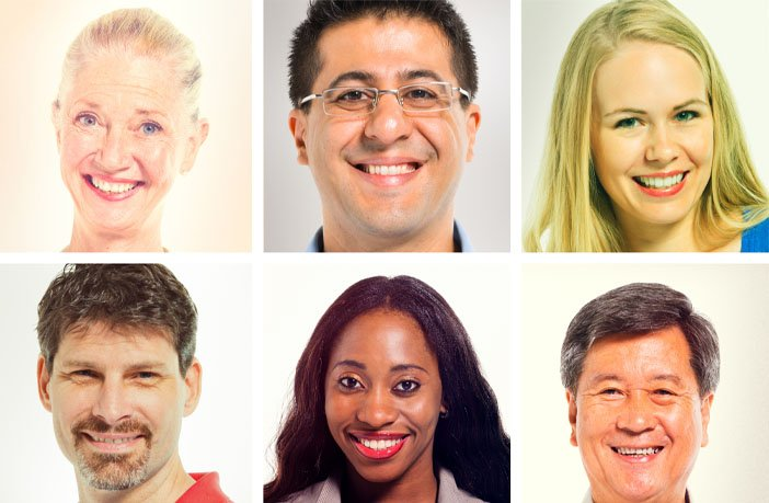 human faces.jpg?resize=412,232 - Estudo mostra o quão rápido formamos uma primeira impressão