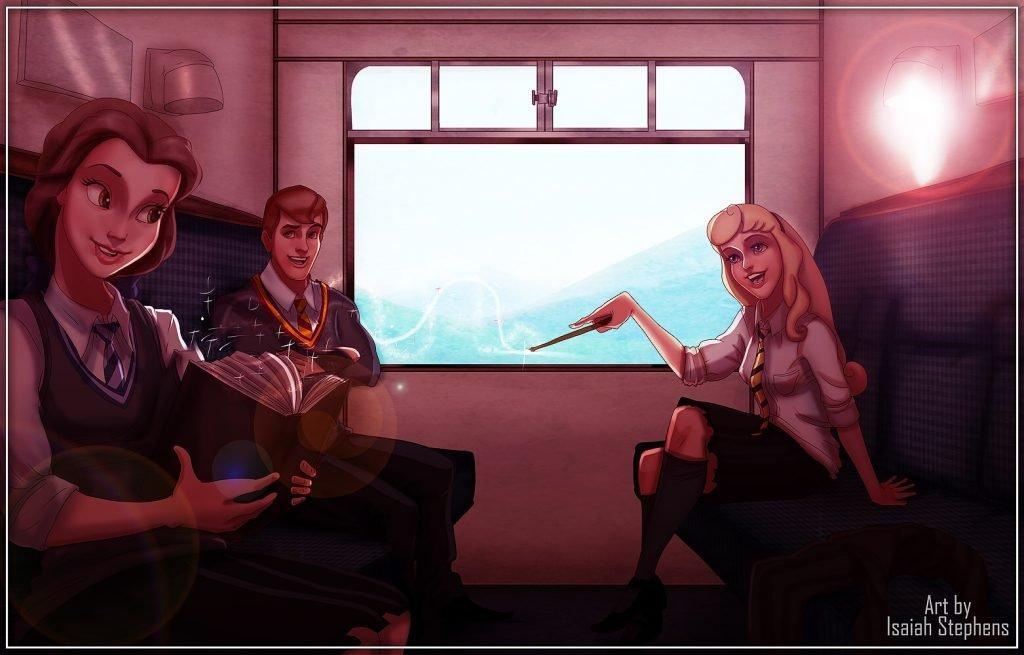 img 3313 1024x655 1.jpg?resize=1200,630 - Como seriam os personagens da disney se fossem para Hogwarts