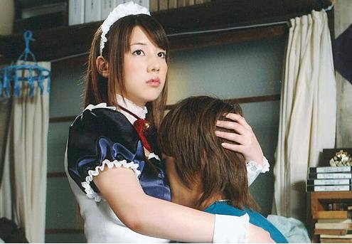 img 5a1d68466eb9d.png?resize=1200,630 - ドラマ「ハチワンダイバー」仲里依紗のメイド服姿がセクシー過ぎる!