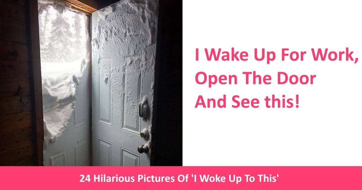 iwokeuptothis - 24 Hilarious Pictures Of 'I Woke Up To This!'