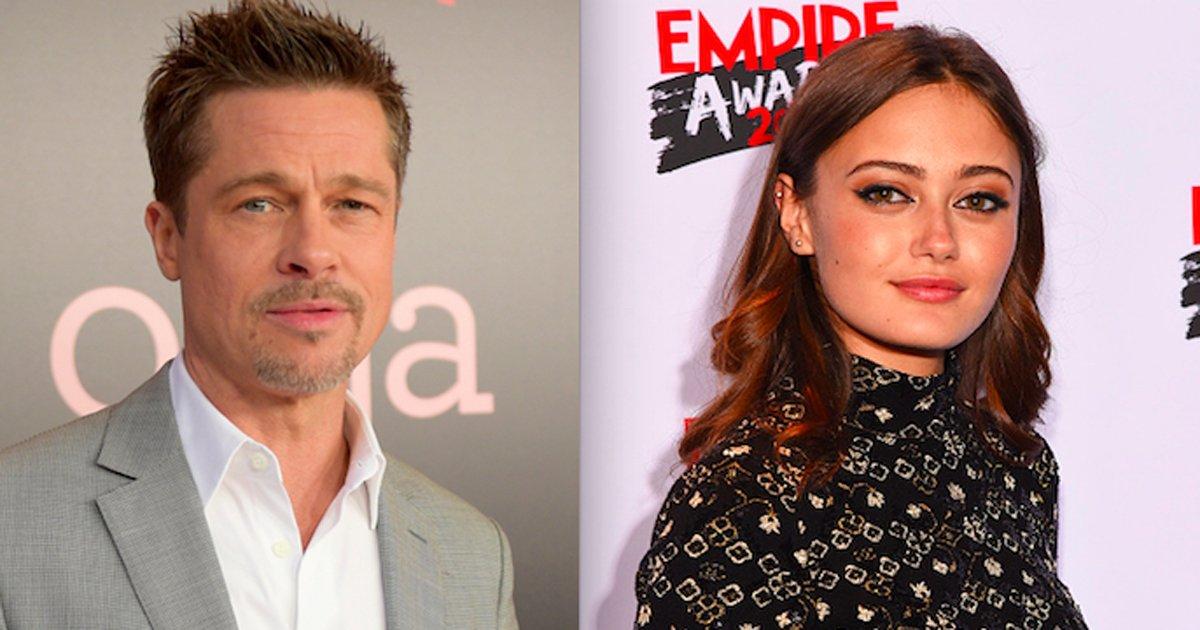 klkl.png?resize=300,169 - Brad Pitt é 32 anos mais velho que sua adorável nova namorada