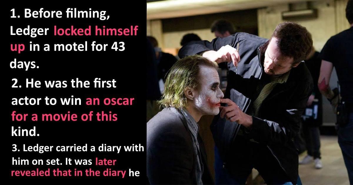 ledgerfacts - 20+ Disturbing Truths About Heath Ledger's Joker
