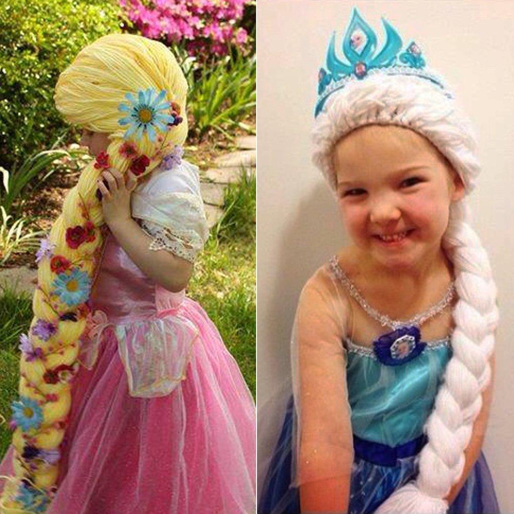 magic yarn wigs girls cancer.jpg?resize=412,232 - Ideia genial de enfermeira traz alegria na vida de crianças com câncer