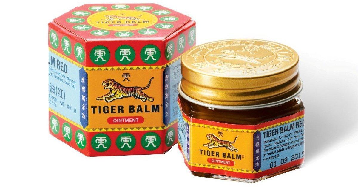 mainphoto baume - 15 façons d'utiliser le Baume du Tigre pour vous soigner