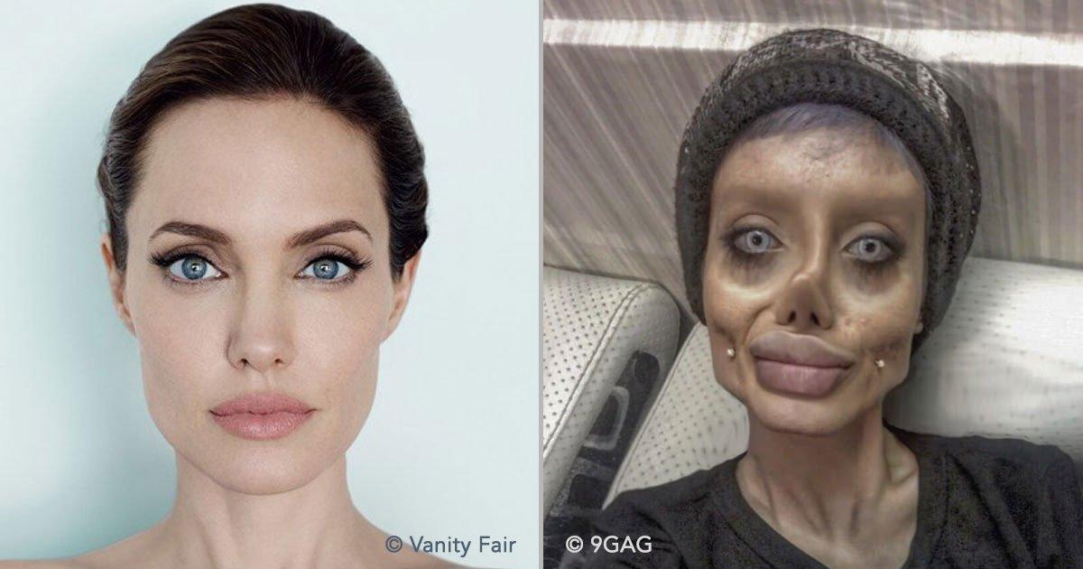 portada 63.jpg?resize=1200,630 - O bizarro caso da jovem que se submeteu a 50 cirurgias para parecer-se com a atriz Angelina Jolie