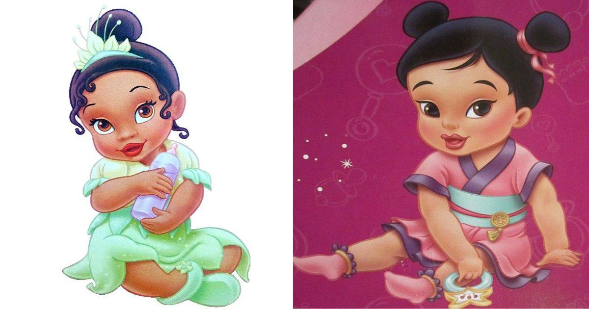 princesa.jpg?resize=412,232 - Fotos ilustram como seriam as princesas da Disney bebês